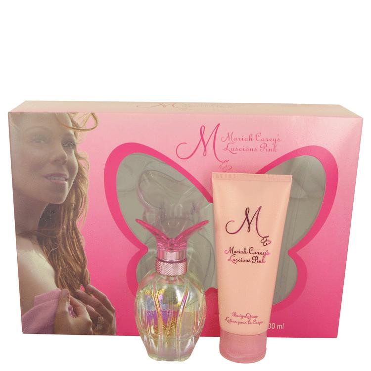 Luscious Pink by Mariah Carey for Women Gift Set -- 1.7 oz Eau De Parfum Spray + 3.3 oz Body Lotion