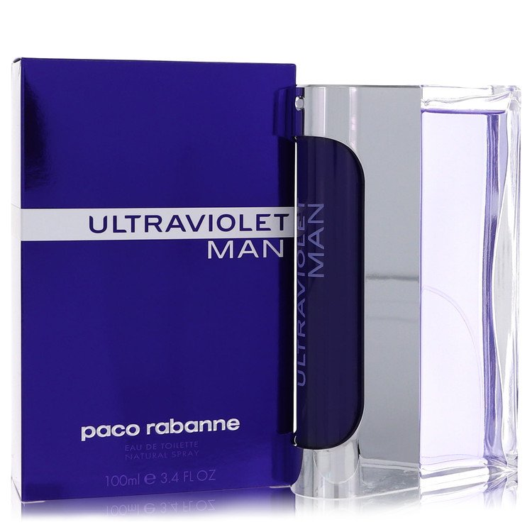Ultraviolet Eau De Toilette Spray By Paco Rabanne 100ml