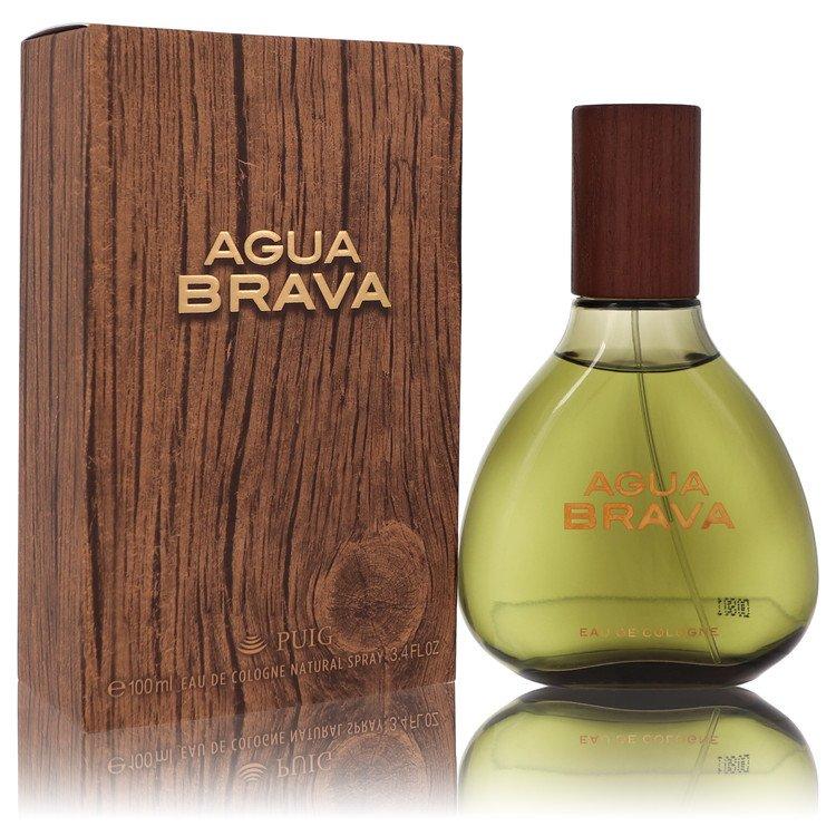 Agua Brava Eau De Cologne Spray By Antonio Puig 3.4oz