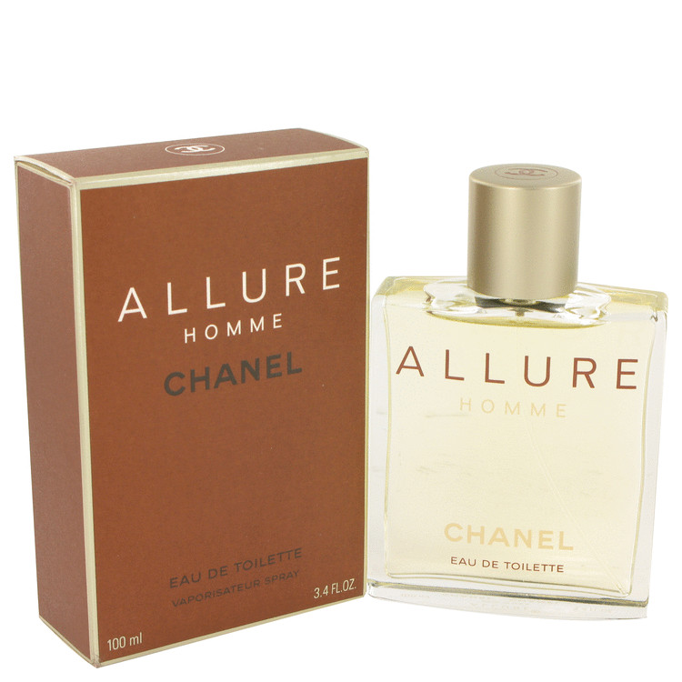 Allure Eau De Toilette Spray By Chanel 3.4oz
