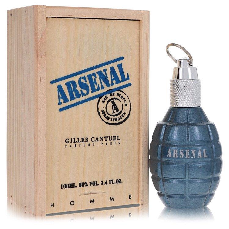 Arsenal Blue Eau De Parfum Spray By Gilles Cantuel 3.4oz