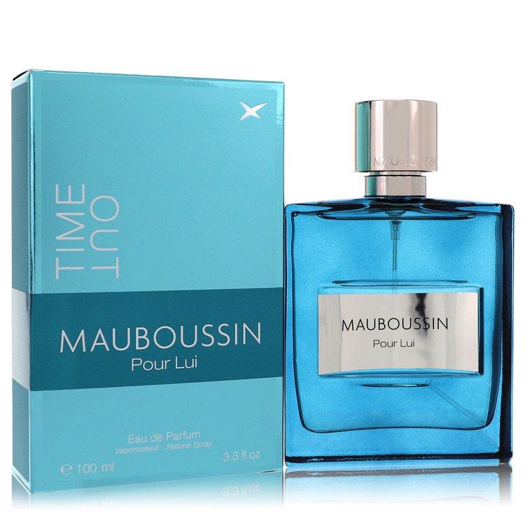Mauboussin Pour Lui Time Out Eau De Parfum Spray By Mauboussin 100ml