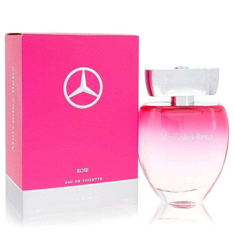 Mercedes Benz Rose Eau De Toilette Spray By Mercedes Benz 90ml