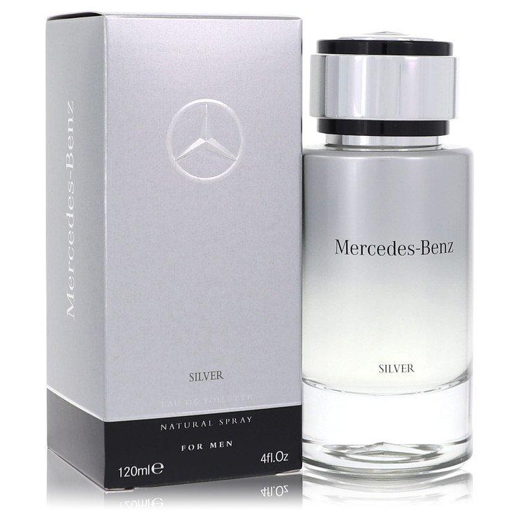 Mercedes Benz Silver Eau De Toilette Spray By Mercedes Benz 120ml