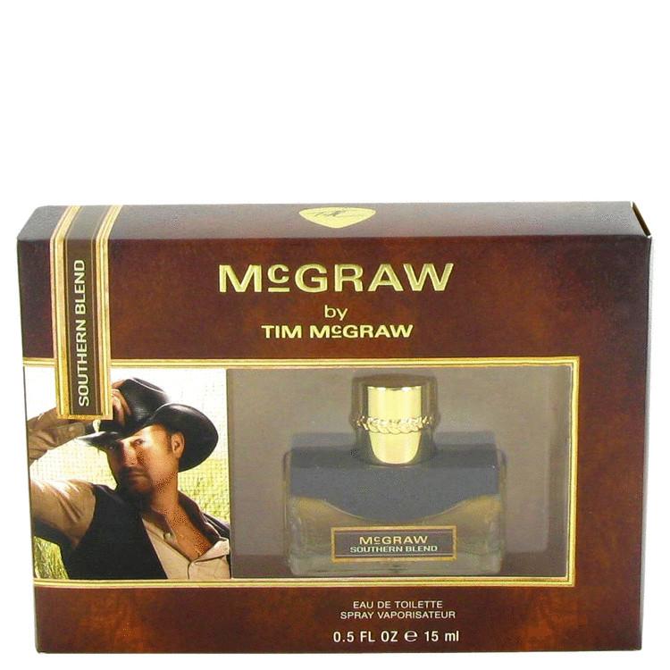 McGraw Southern Blend by Tim McGraw for Men Mini EDT Spray .5 oz