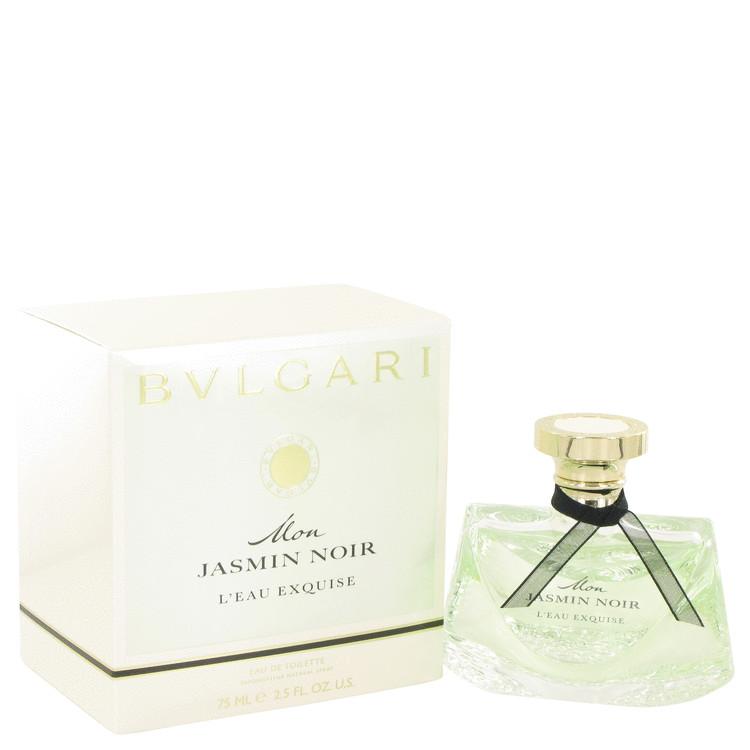 Mon Jasmin Noir L`eau Exquise Eau De Toilette Spray By Bvlgari 75ml
