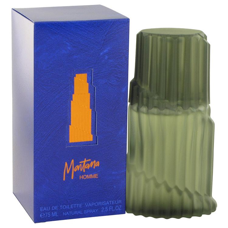 Montana Eau De Toilette Spray (Blue Original Box) By Montana 75ml