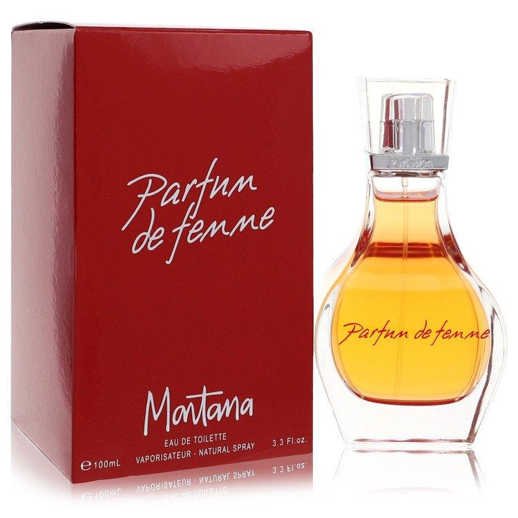 Montana Parfum De Femme Eau De Toilette Spray By Montana 100ml