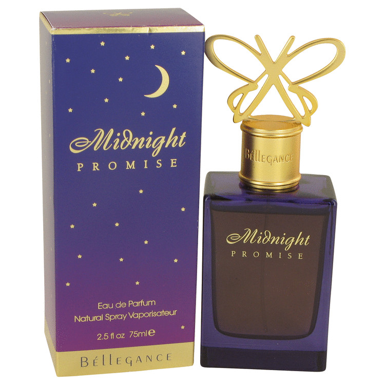 Midnight Promise Eau De Parfum Spray By Bellegance 75ml