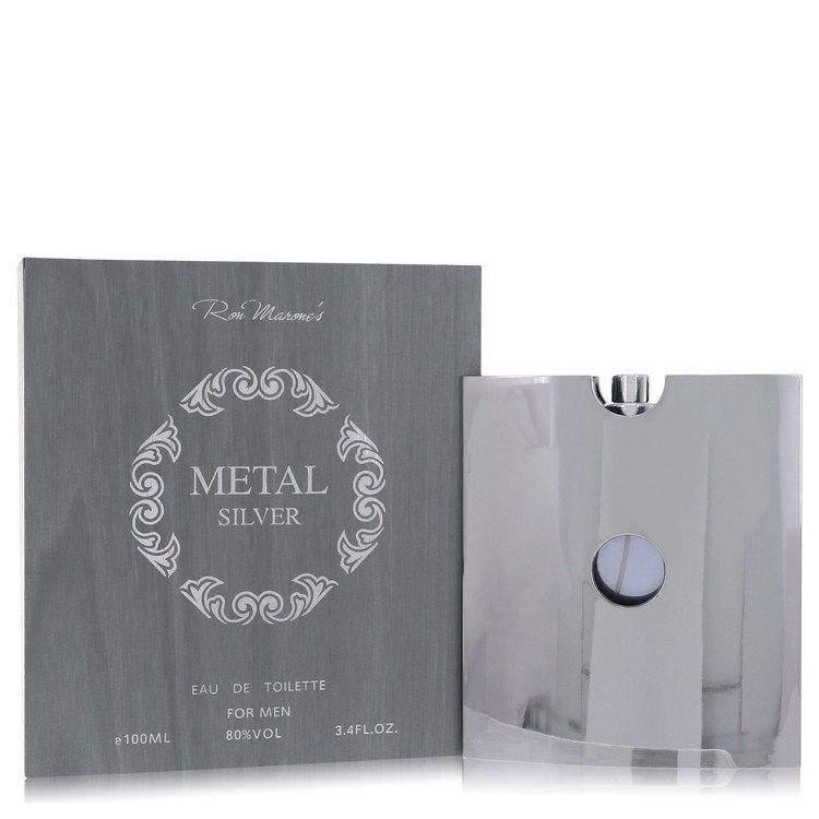 Metal Silver Eau De Toilette Spray By Ron Marone 100ml