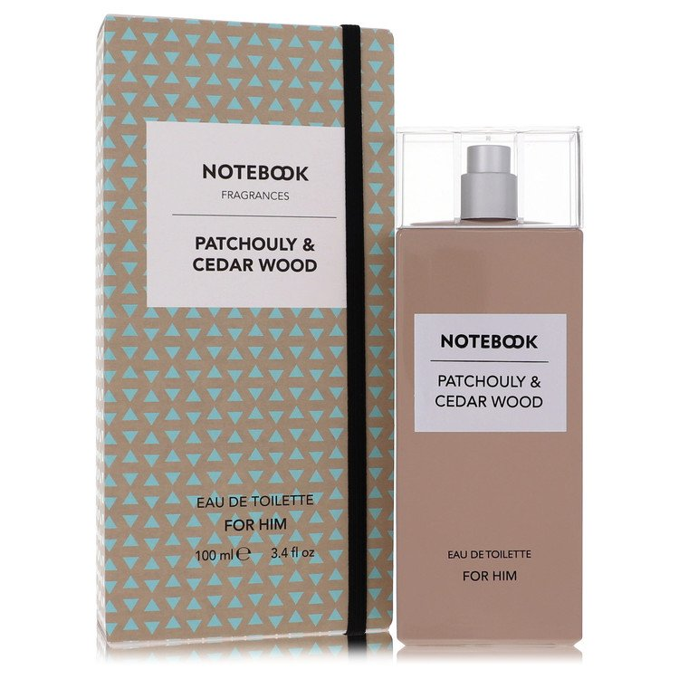 Notebook Patchouly and Cedar Wood Eau De Toilette Spray By Selectiva SPA 100ml