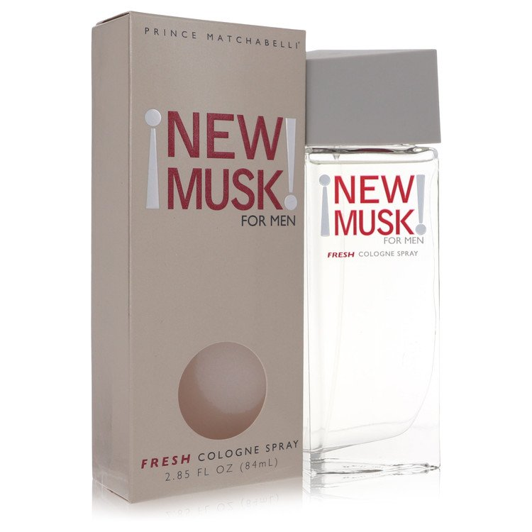 New Musk Cologne Spray By Prince Matchabelli 83ml