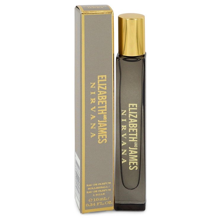 Nirvana French Grey Mini EDP Rollerball Pen By Elizabeth and James 10ml