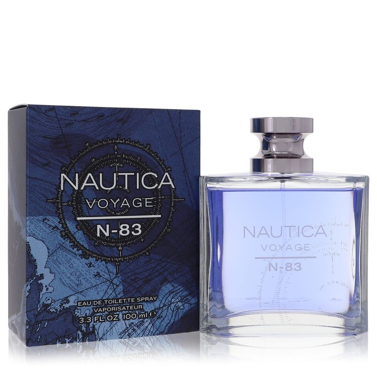 Nautica Voyage N-83 Eau De Toilette Spray By Nautica 100ml