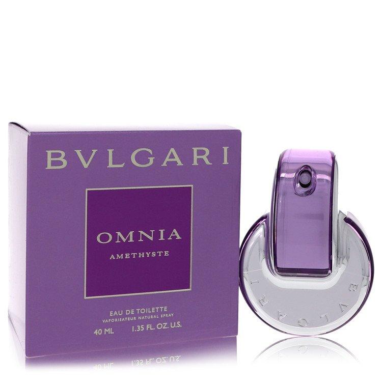Omnia Amethyste Eau De Toilette Spray By Bvlgari 38ml