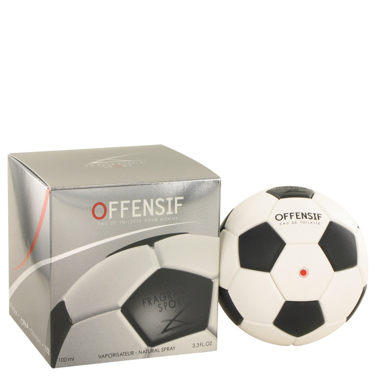 Offensif Soccer Eau De Toilette Spray By Fragrance Sport 100ml
