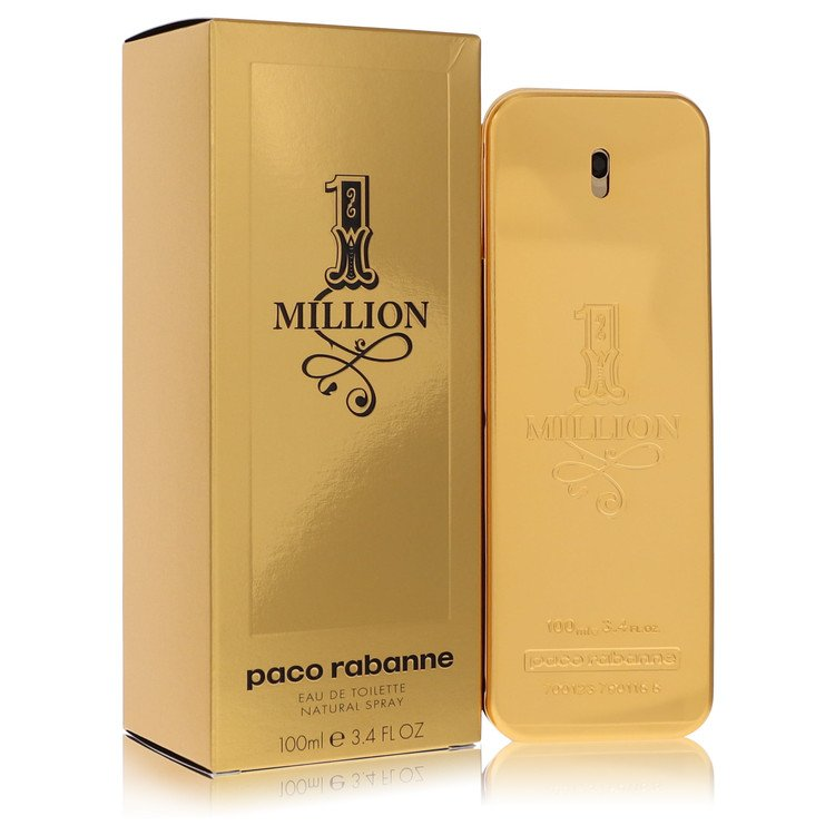 1 Million Eau De Toilette Spray By Paco Rabanne 100ml