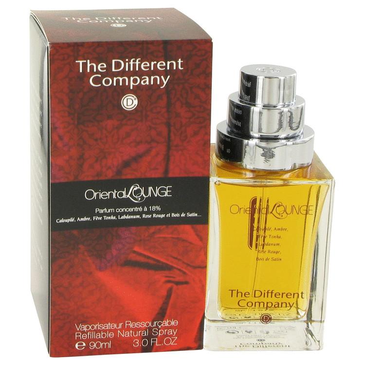 Oriental Lounge Eau De Parfum Spray Refillable By The Different Company 90ml