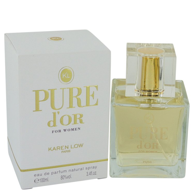 Pure D`or Eau De Parfum Spray By Karen Low 100ml