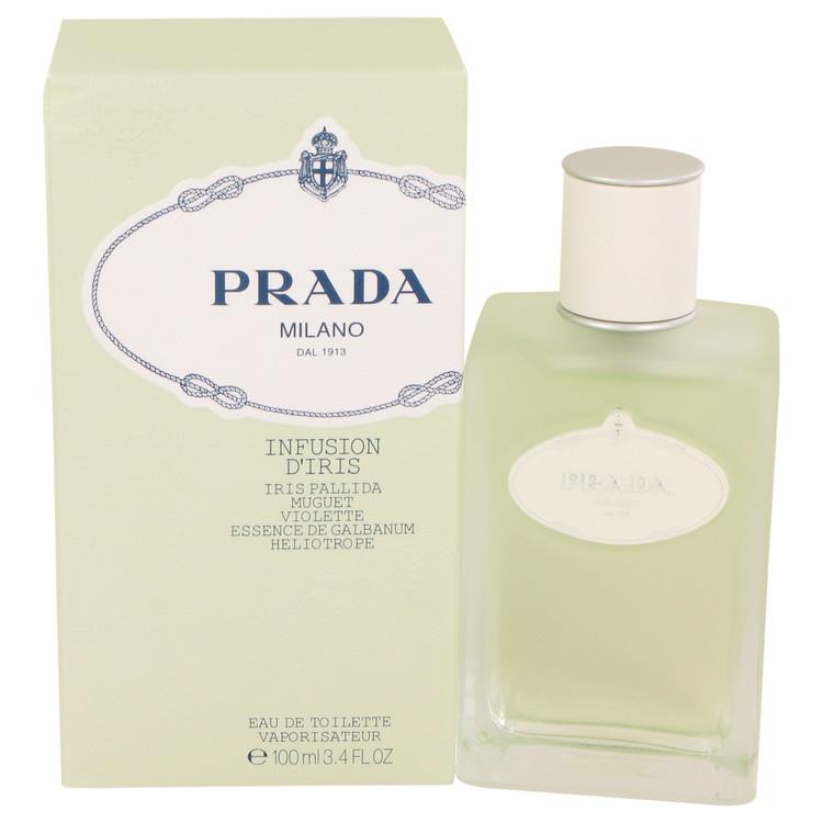 Prada Infusion D'iris by Prada for Women Eau De Toilette Spray 3.4 oz
