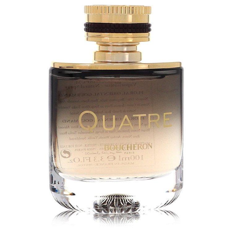 Quatre Absolu De Nuit Eau De Parfum Spray (Tester) By Boucheron 100ml