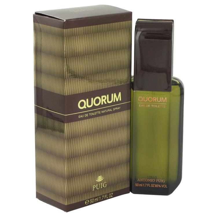 QUORUM by Antonio Puig for Men Eau De Toilette Spray 1.7 oz
