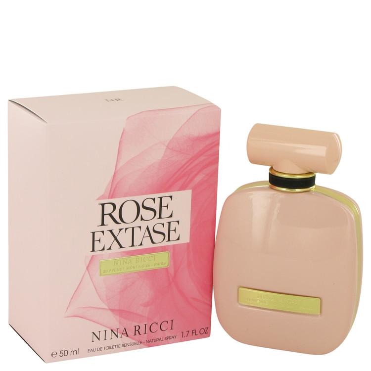 Rose Extase by Nina Ricci for Women Eau De Toilette Sensuelle Spray 1.7 oz