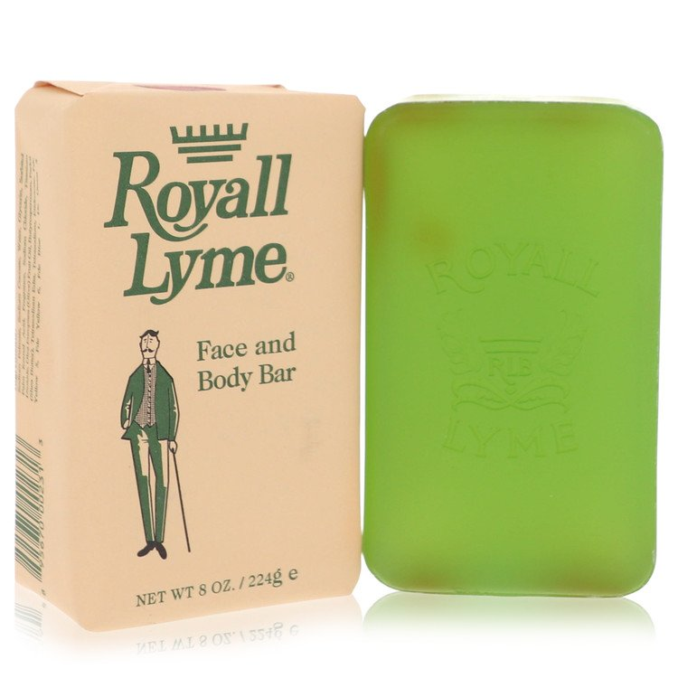 ROYALL LYME by Royall Fragrances for Men Face and Body Bar Soap 8 oz