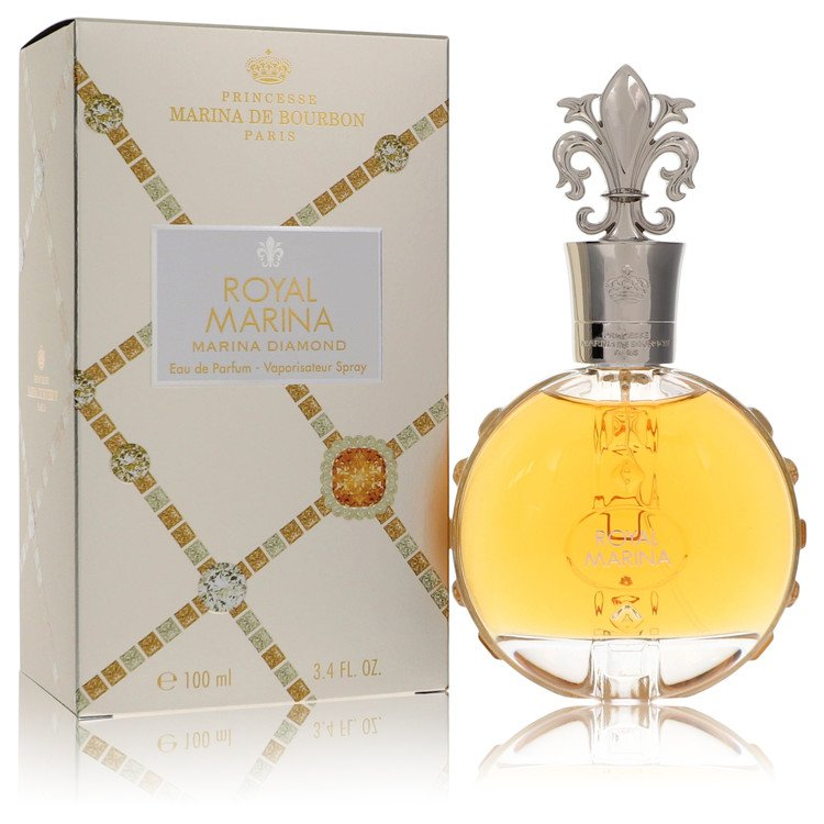 Royal Marina Diamond Eau De Parfum Spray By Marina De Bourbon 100ml