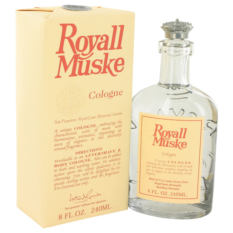 Royall Muske All Purpose Lotion / Cologne By Royall Fragrances 240ml