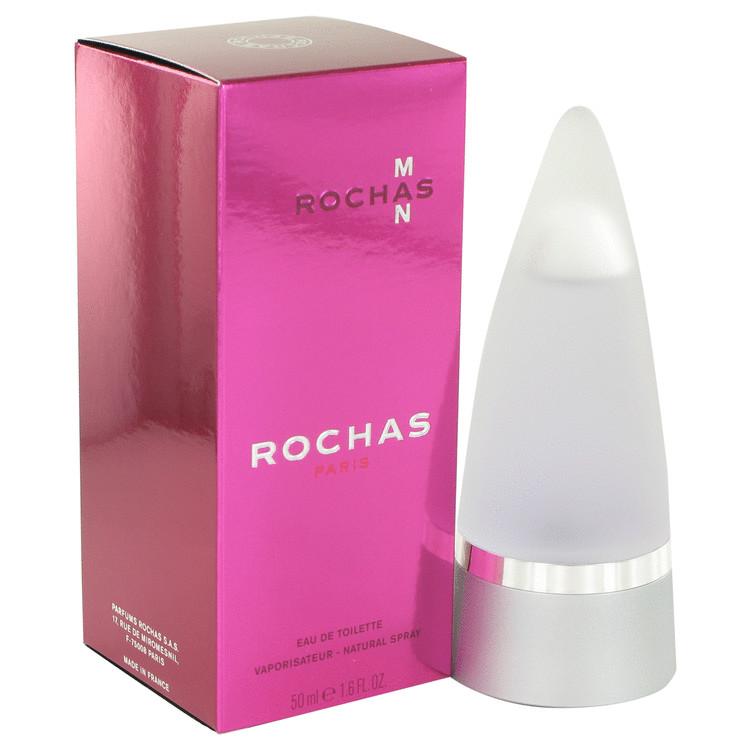 Rochas Man Eau De Toilette Spray By Rochas 50ml