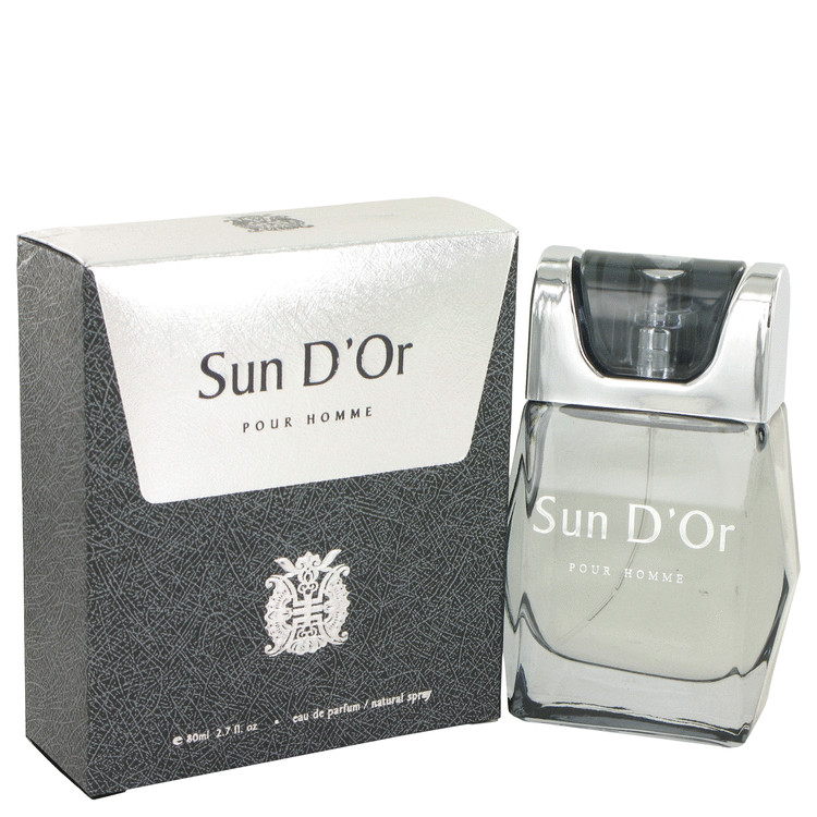 Sun D`or Eau De Parfum Spray By YZY Perfume 80ml