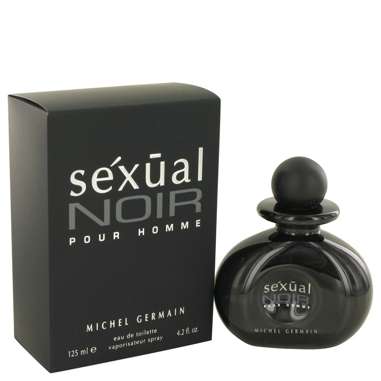 Sexual Noir Eau De Toilette Spray By Michel Germain 125ml