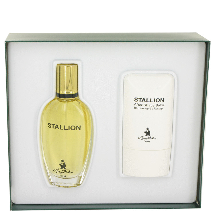 Stallion by Larry Mahan for Men Gift Set -- 1.7 oz Eau De Cologne Spray + 2 oz After Shave Balm