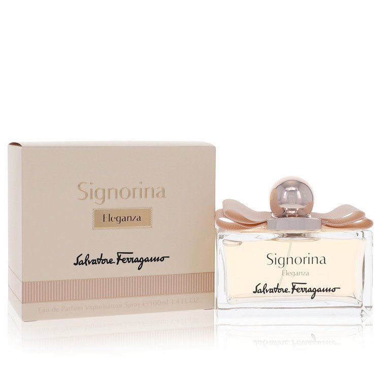 Signorina Eleganza Eau De Parfum Spray By Salvatore Ferragamo 100ml