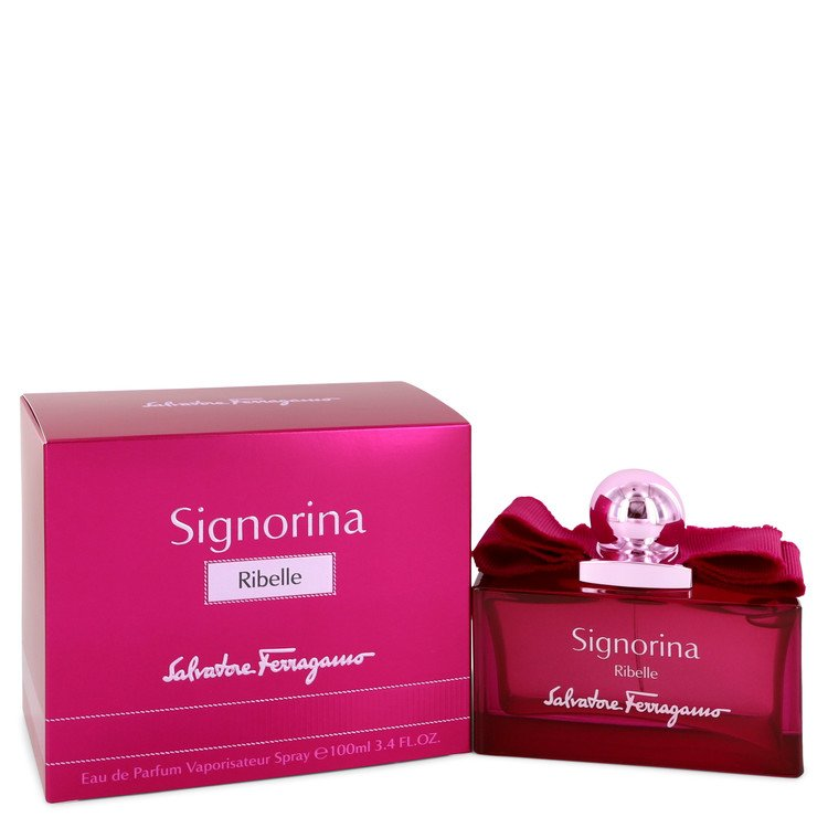 Signorina Ribelle Eau De Parfum Spray By Salvatore Ferragamo 100ml