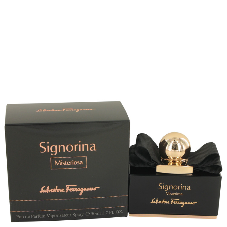 Signorina Misteriosa Eau De Parfum Spray By Salvatore Ferragamo 50ml