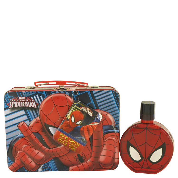 Spiderman by Marvel for Men Eau De Toilette Spray with Free Lunch Box 3.4 oz