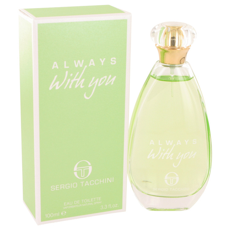 Sergio Tacchini Always With You Eau De Toilette Spray By Sergio Tacchini 100ml