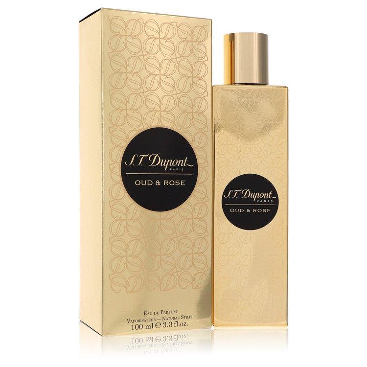 St Dupont Oud and Rose Eau De Parfum Spray (Unisex) By ST Dupont 100ml