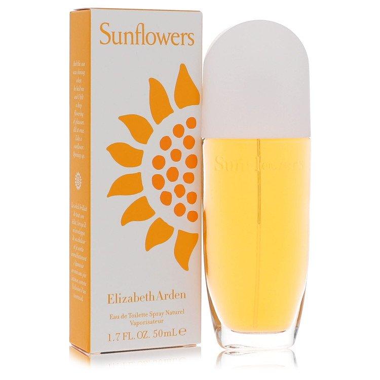 Sunflowers Eau De Toilette Spray By Elizabeth Arden 50ml