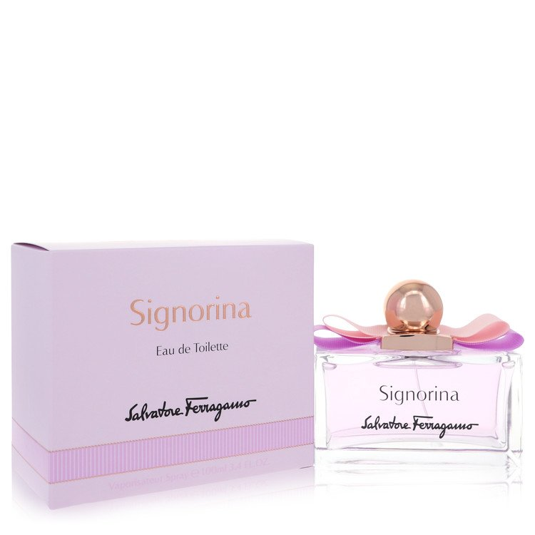 Signorina Eau De Toilette Spray By Salvatore Ferragamo 100ml