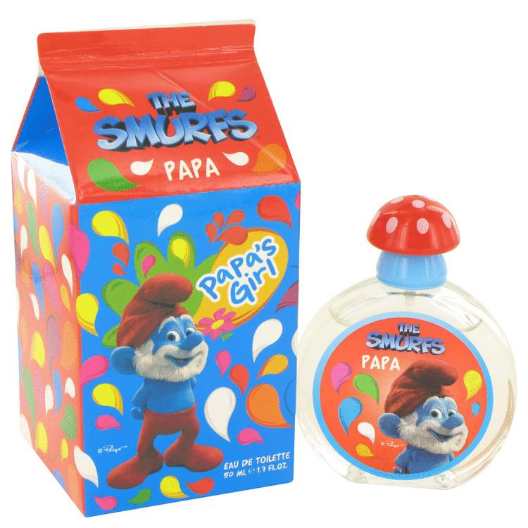 The Smurfs by Smurfs for Women Papa\'s Girl Eau De Toilette Spray 1.7 oz