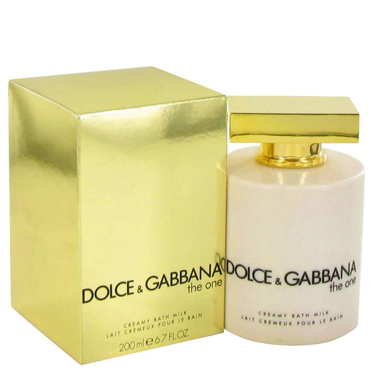 The One by Dolce & Gabbana for Women Bath Milk 6.7 oz