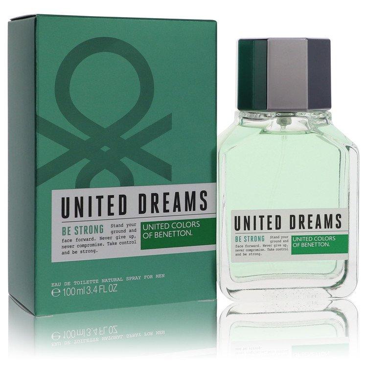 United Dreams Be Strong Eau De Toilette Spray By Benetton 100ml