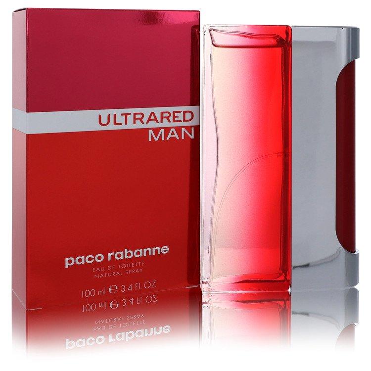 Ultrared Eau De Toilette Spray By Paco Rabanne 3.4oz