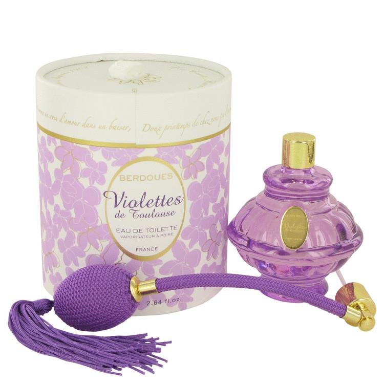 Violettes De Toulouse by Berdoues for Women Eau De Toilette Spray 2.64 oz