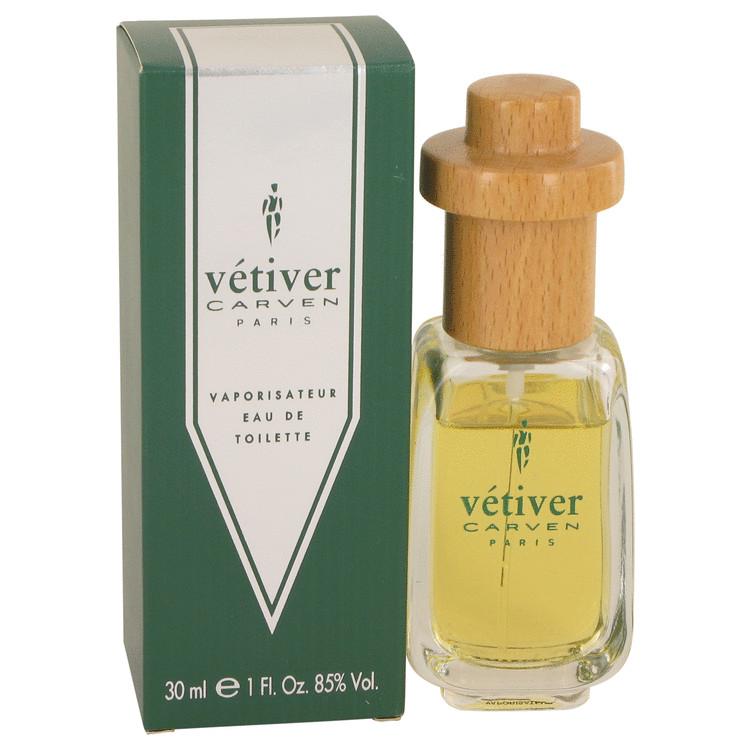 VETIVER CARVEN by Carven for Men Eau De Toilette Spray 1 oz