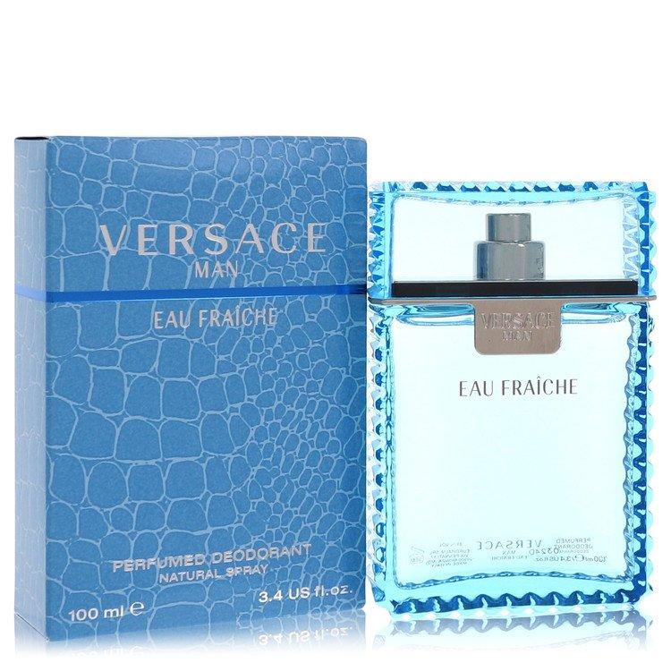 Versace Man Eau Fraiche Deodorant Spray By Versace 3.4oz