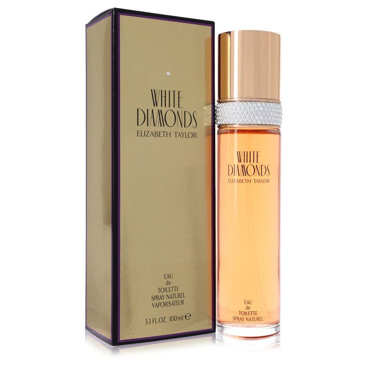 White Diamonds Eau De Toilette Spray By Elizabeth Taylor 100ml